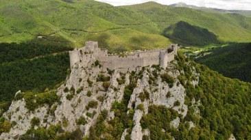 Cathar castle, Ariege, France
